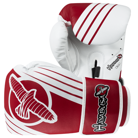 Hayabusa <br> Ikusa Recast 10oz Gloves <br> White\Red