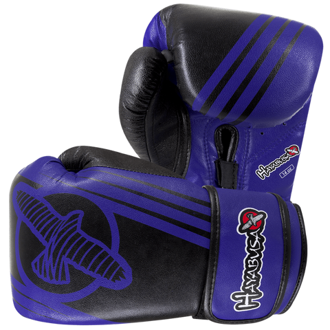 Hayabusa <br> Ikusa Recast 14oz Gloves <br>Blue\Black