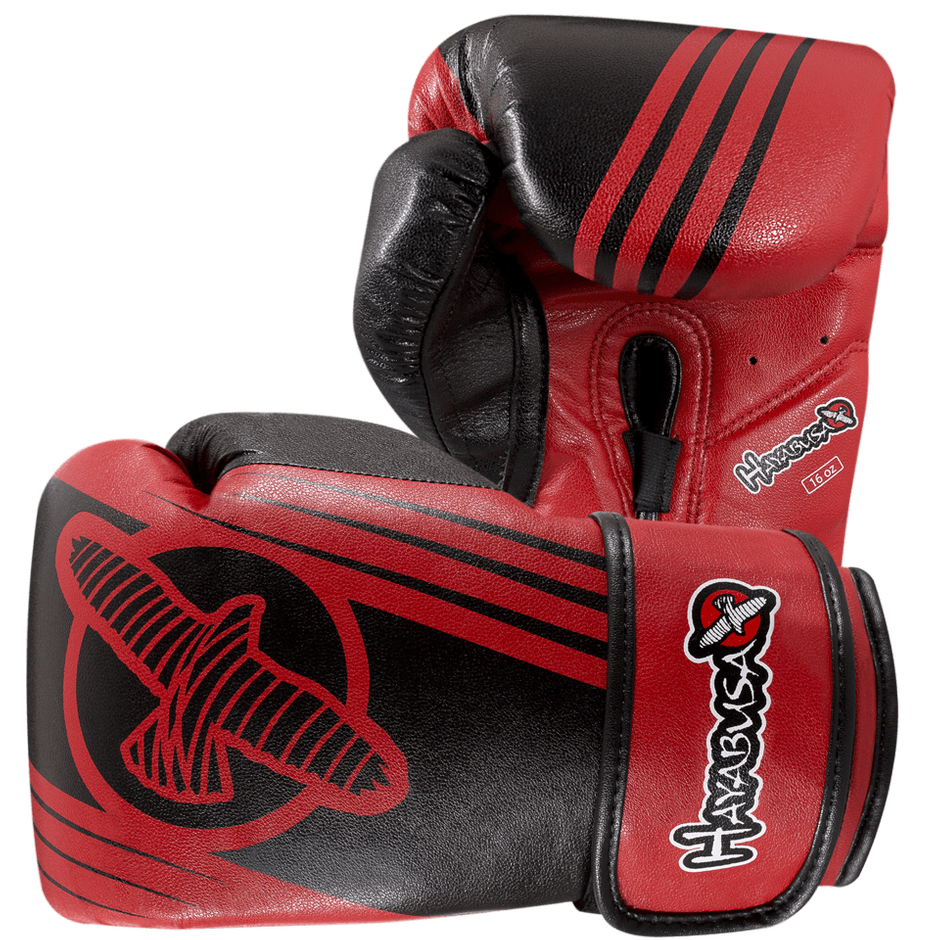 Hayabusa <br> Ikusa Recast 16oz Gloves <br> Red\Black