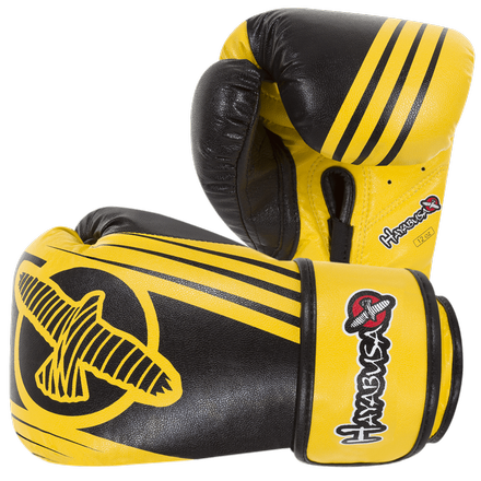Hayabusa <br> Ikusa Recast 12oz Gloves <br> Yellow\Black