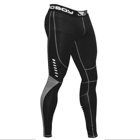 Bad Boy <br> Sphere Compression Leggings <br> Black/Grey