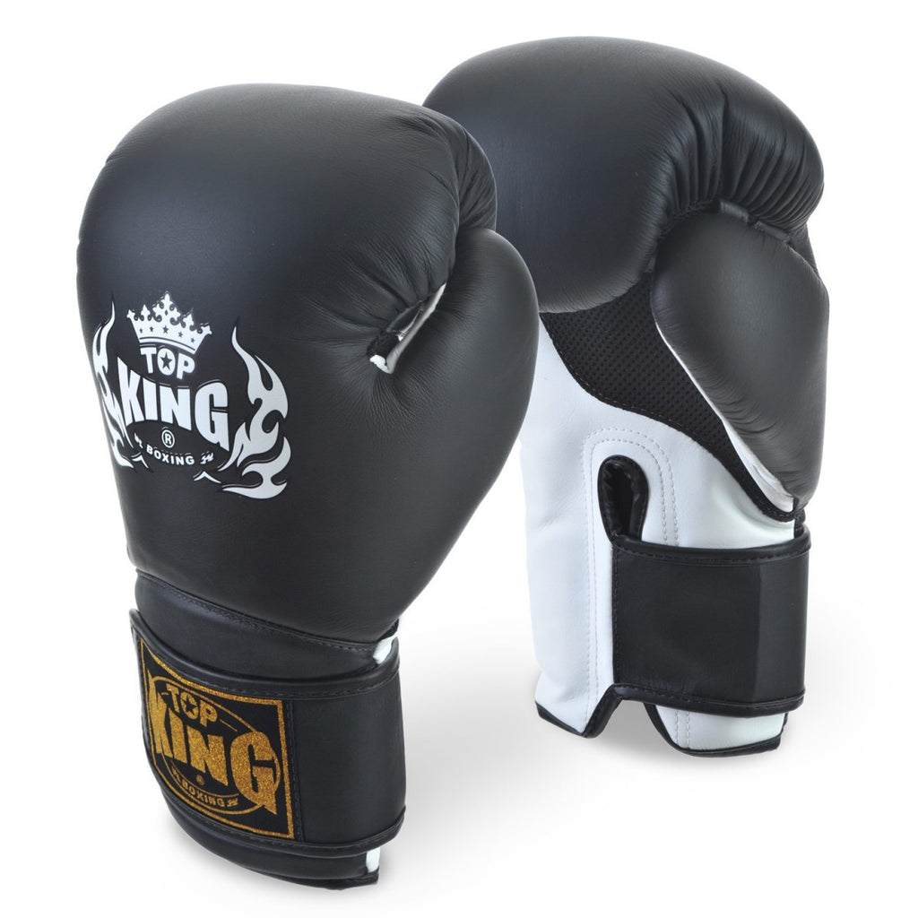 Top King <br> Super Air Boxing Glove <br> Black