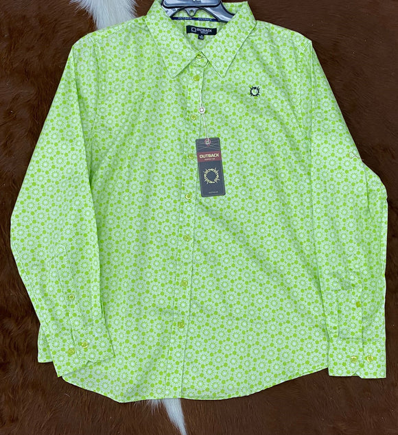OBW16266 Ladies Shirt Lime