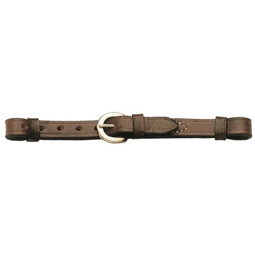GG Western Curb Strap Brown
