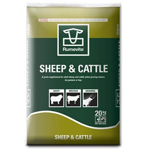 Rumevite Sheep and Cattle Nuts 20kg