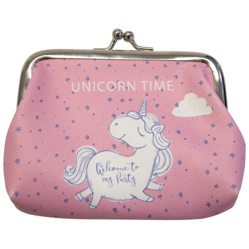 Unicorn Purse Pink