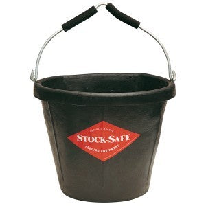 Stock Safe Flat Back Bucket 17ltrs
