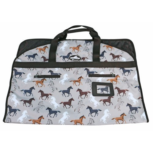 Showmaster Garment Bag Horse Print