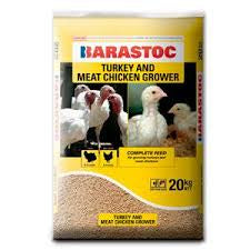 Barastoc Turkey and Meat Grower 20kg