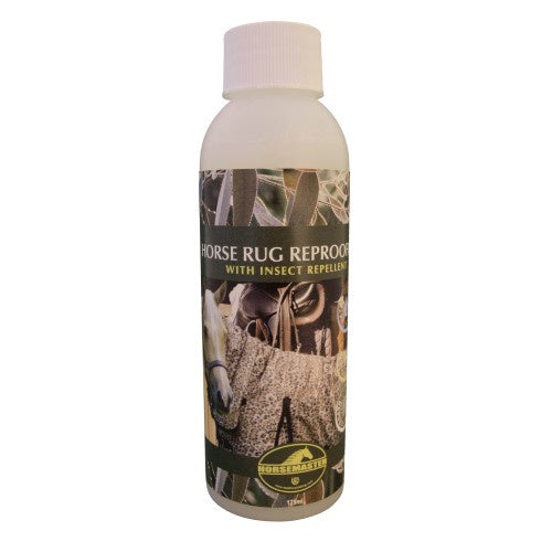 Horsemaster Rug Reproofer w/Insect Shield 125ml