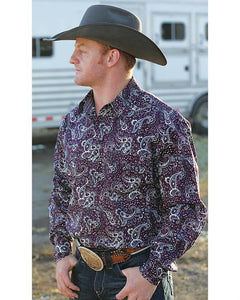Cinch Snap Shirt BUR