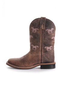 Pure Western Selina Children Brown