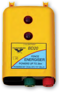 Thunderb 2km 12 volt Battery Energiser B-20