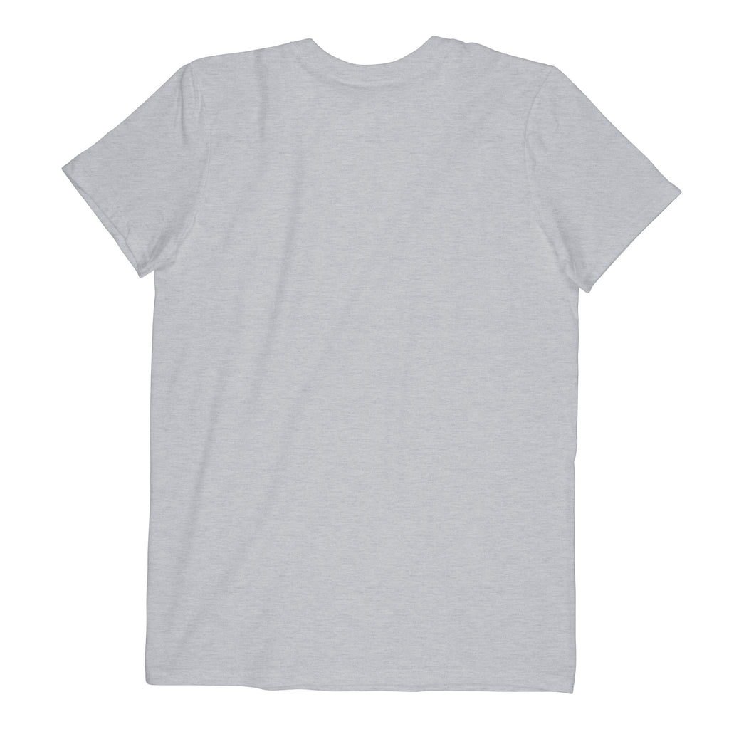 Comfort V-neck - Curved Logo (Black)