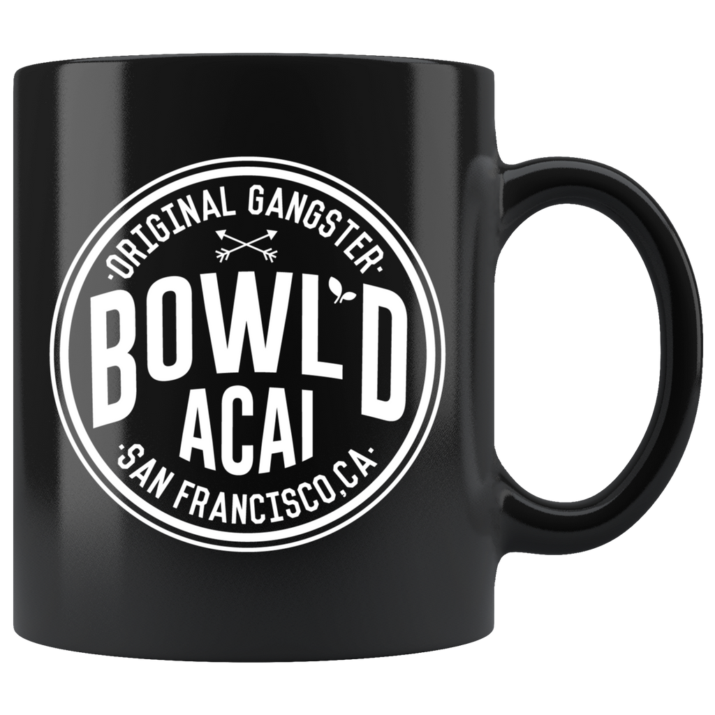 Black 11oz Mug - Circle Logo