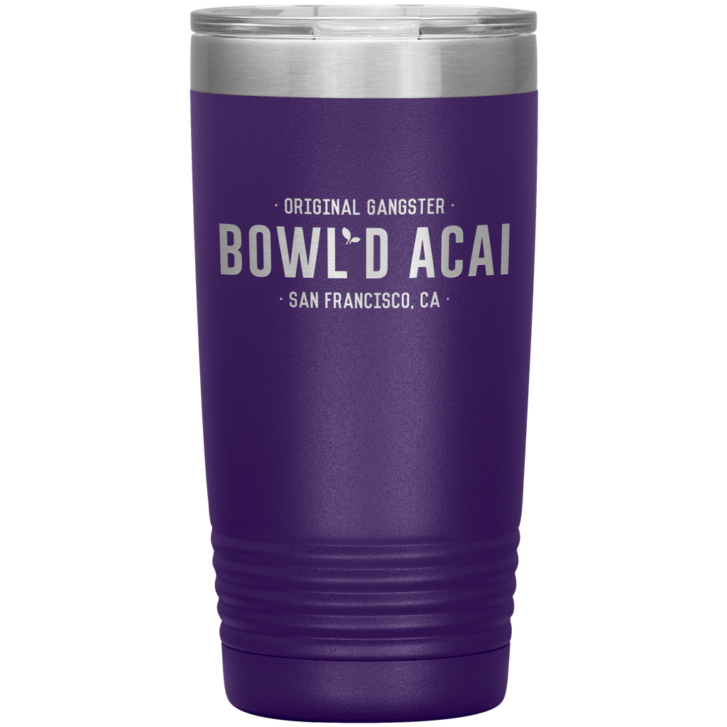20 Ounce Vacuum Tumbler - Wordmark