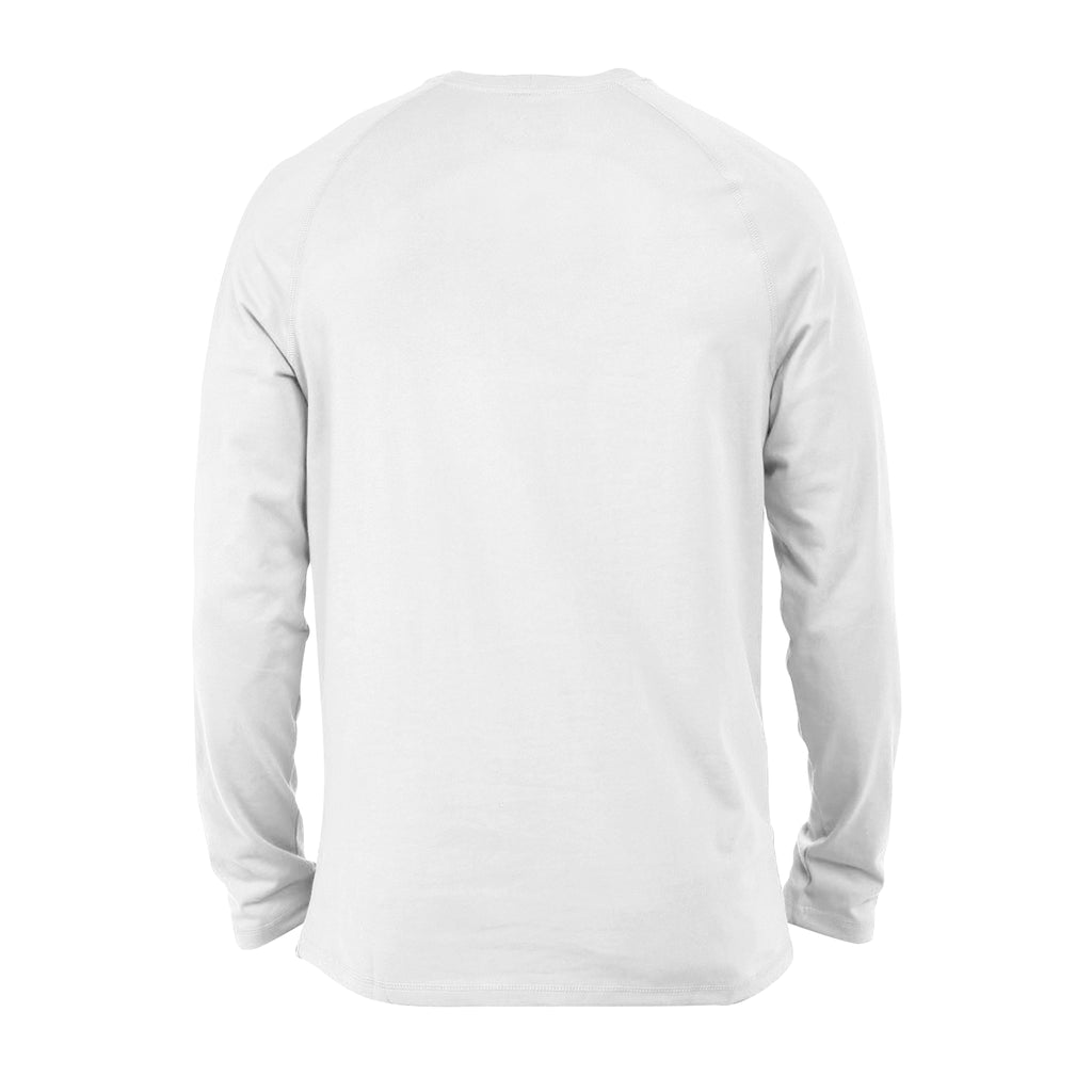 Premium Long Sleeve - Curved Logo (Black)