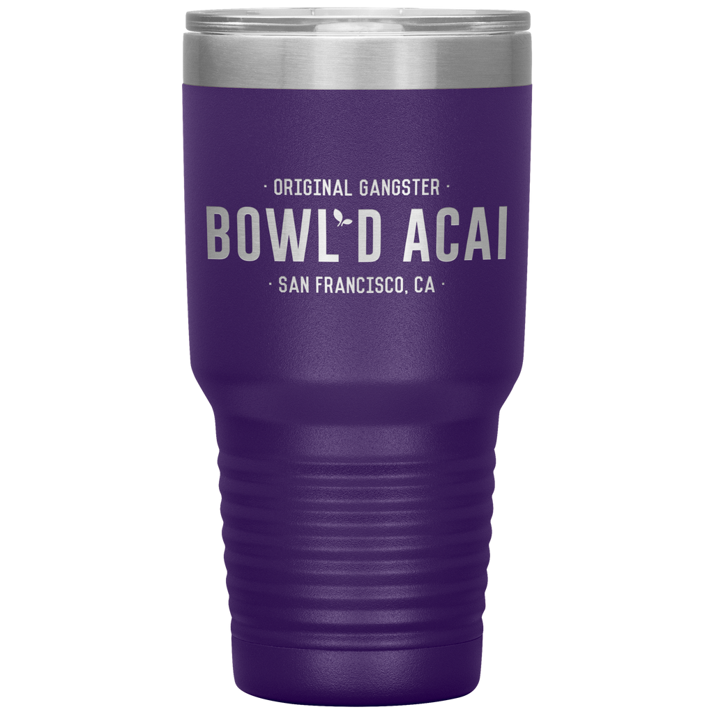 30 Ounce Vacuum Tumbler - Wordmark