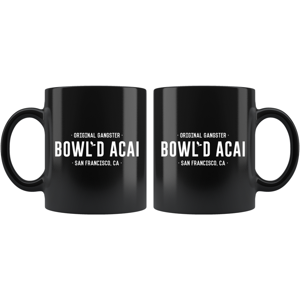 Black 11oz Mug - Wordmark