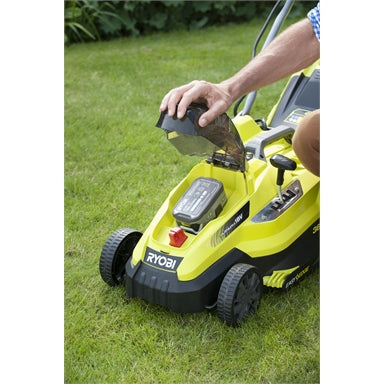 Ryobi One+ 18V 4.0Ah 36cm Lawn Mower Kit (arriving instore soon)