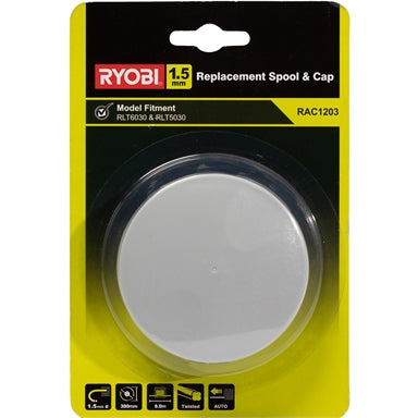 Ryobi Replacement Spool and Line - Suits Line Trimmer Model RLT5030