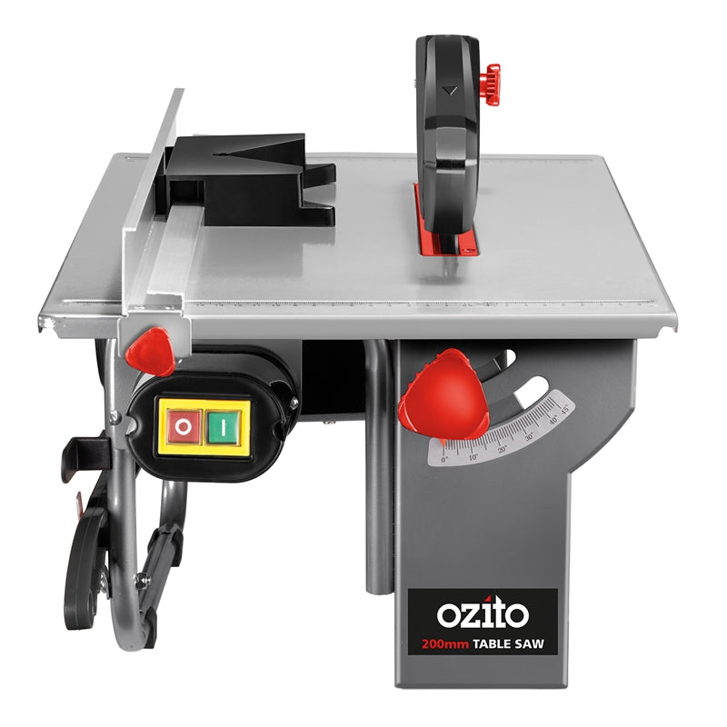 **HIRE SHOP ** Ozito 200mm 800W Table Saw   ໂຕະຕັດໄມ້   800W