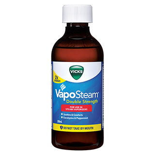 Vicks VapoSteam Double Strength - 200mL (arriving instore soon)