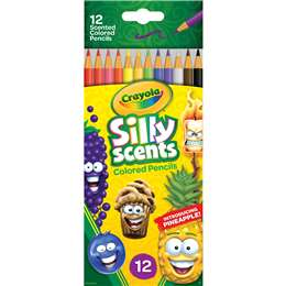 Crayola Silly Scents Coloured Pencils Colored Pencils 12 pack