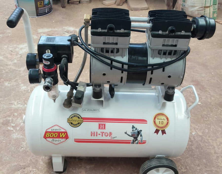 **HIRE SHOP **  Hi-Top Small air compressor