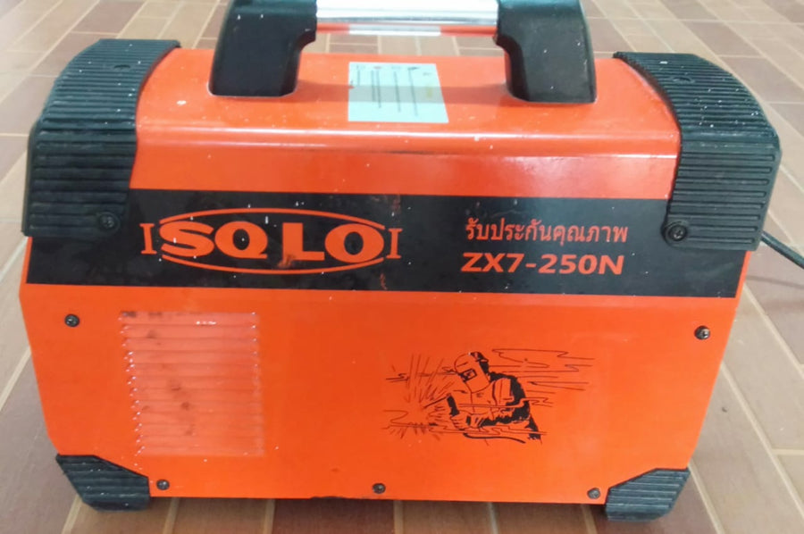 **HIRE SHOP ** SOLO ZX7-250 220V 250A Mini Electric Welding Machine