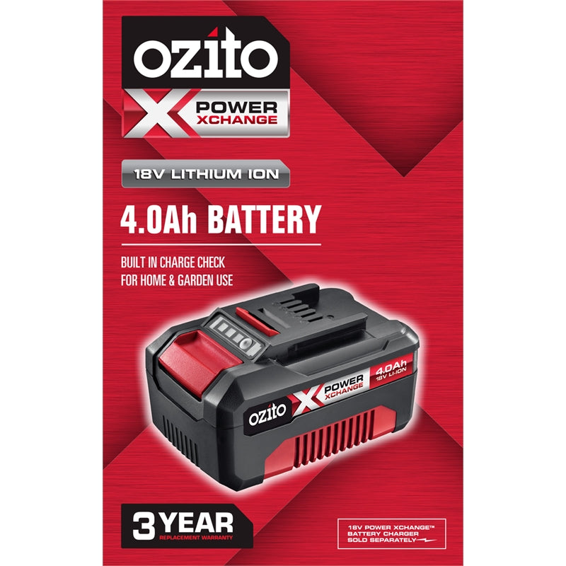 Ozito PXC 18V 4.0Ah Lithium-Ion Battery