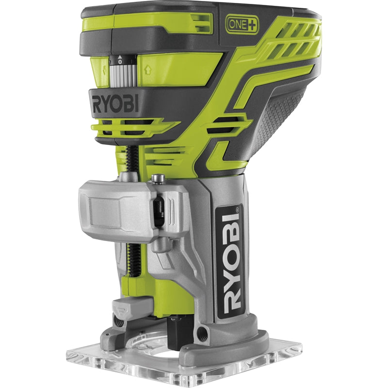 **HIRE SHOP ** Ryobi One+ 18V Trim Router - Skin Only ໂລເຕີ