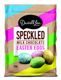 DARRELL LEA MILK CHOCOLATE SPECKLED EGGS ( 125G BAG)