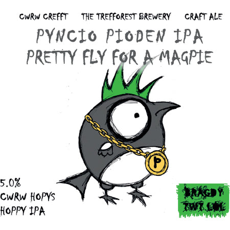 Pretty Fly for a Magpie by Bragdy Twt Lol (5%)
