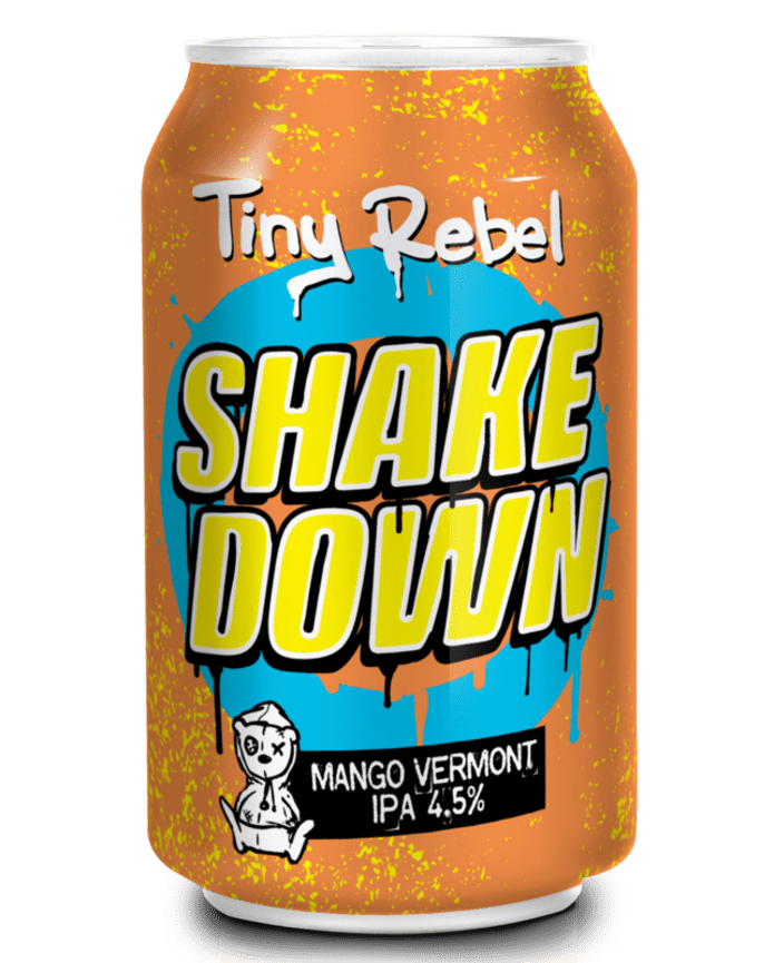 Shakedown by Tiny Rebel (4.5%)