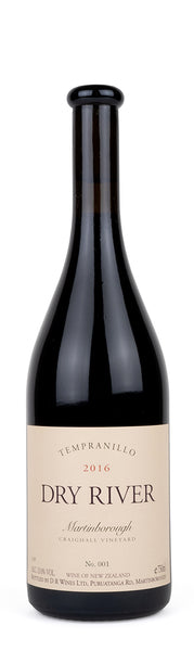 Dry River Craighall Tempranillo 2016