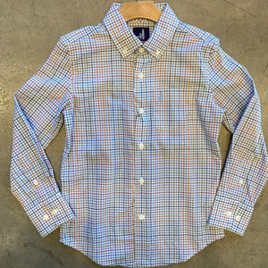 JO Chester Gulf Blue Button Down Shirt
