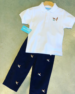 Mallard Duck Embroidered Shirt