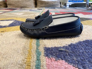 T Driving Moccasin with tassels