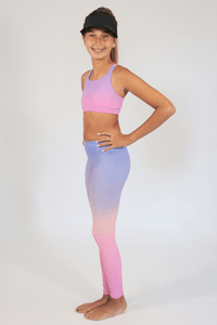Candy Pink Ombre Legging