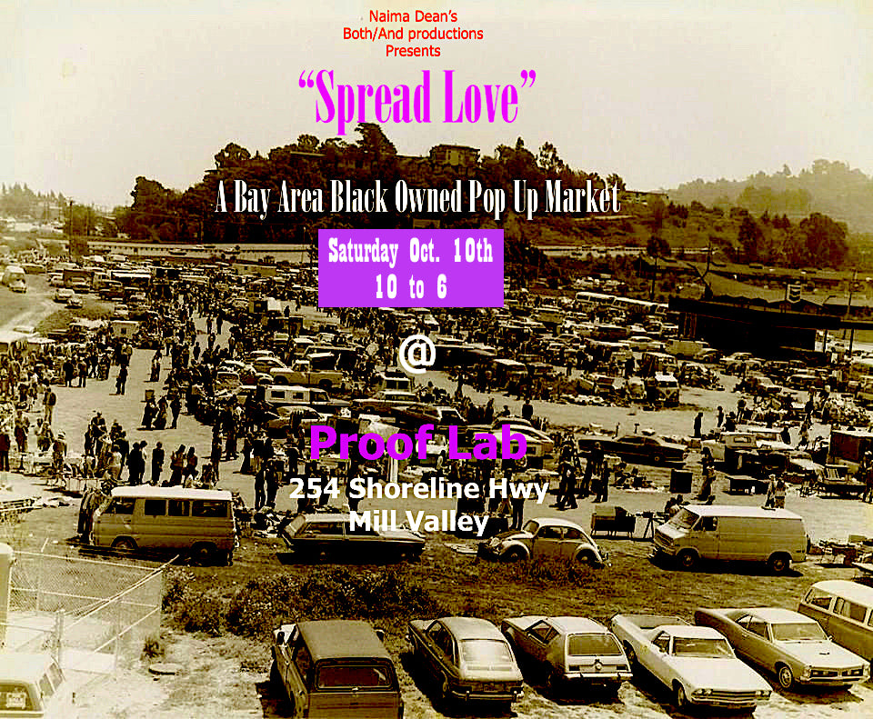 """Spread Love"" Pop-Up ~ 10/6/20"