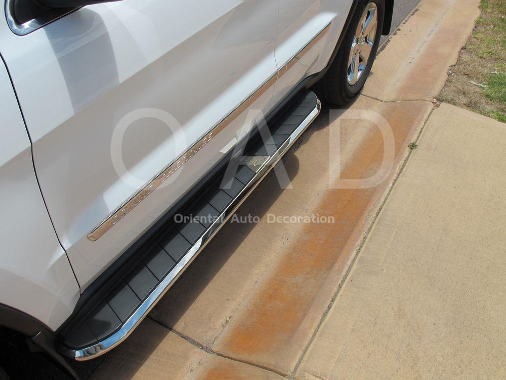 Black Aluminum Side Steps/Running Board For Holden Colorado Dual Cab 12+ CYZ