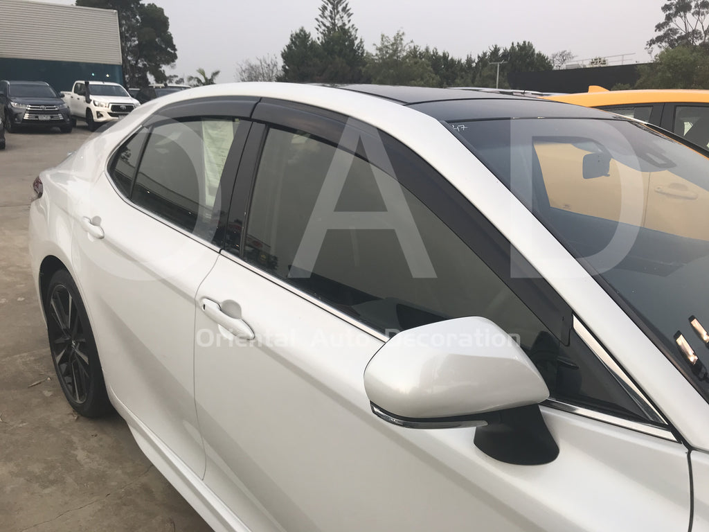 Injection weathershields weather shields window visor For Toyota Camry 18-20 model S