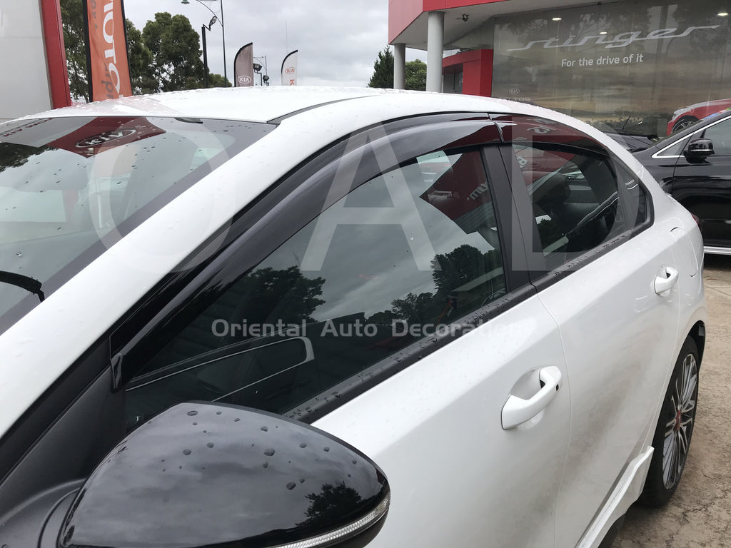 Injection weathershields weather shields window visor For KIA Cerato sedan 18-20 4pcs model SJ