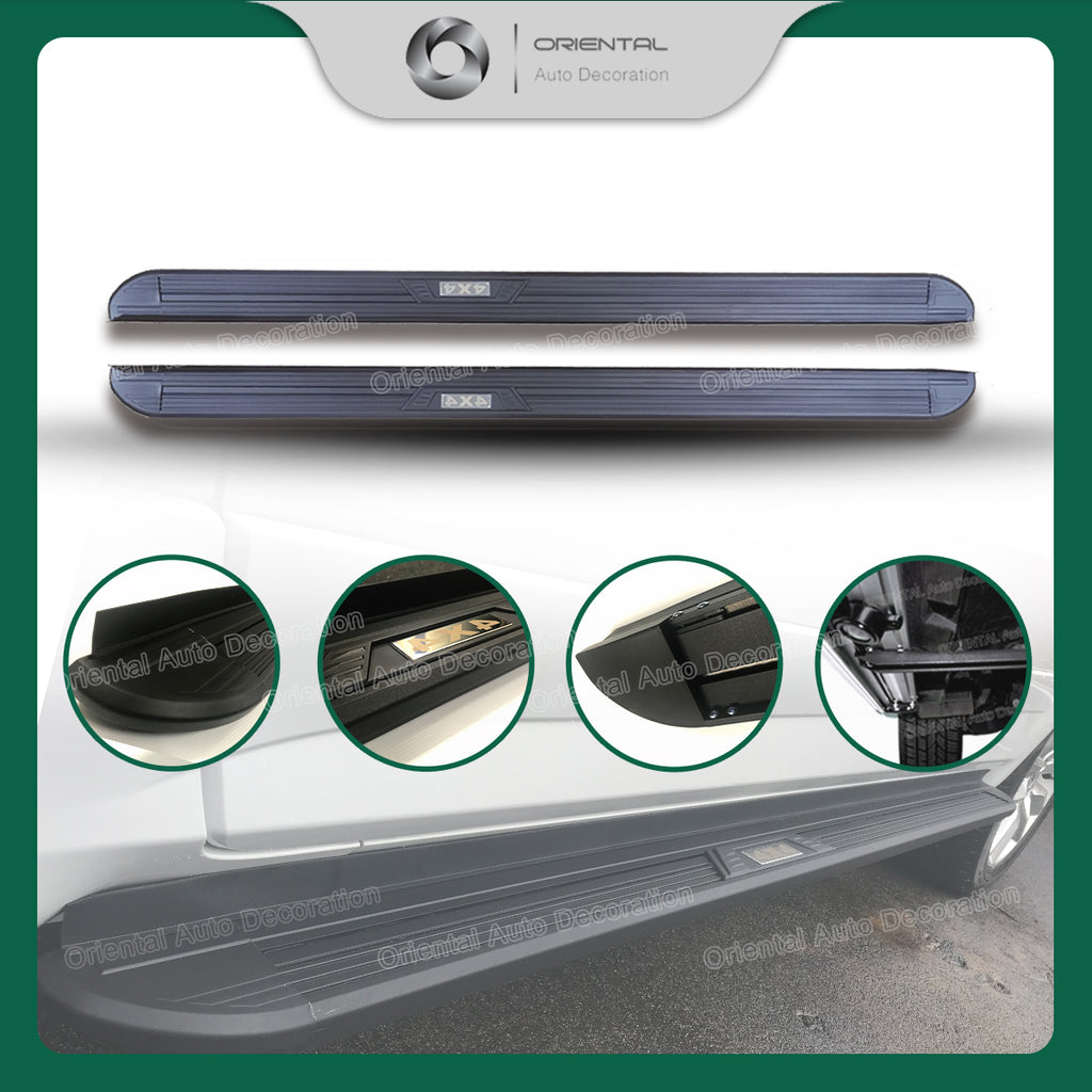 Aluminum Side Steps Running Board For Mitsubishi Outlander 07-12 #XY