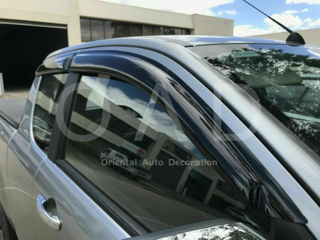 Bonnet Protector & Weathershields Weather shields window visor for Mazda BT-50 BT50 Extra Cab 11-20 4pcs #BC