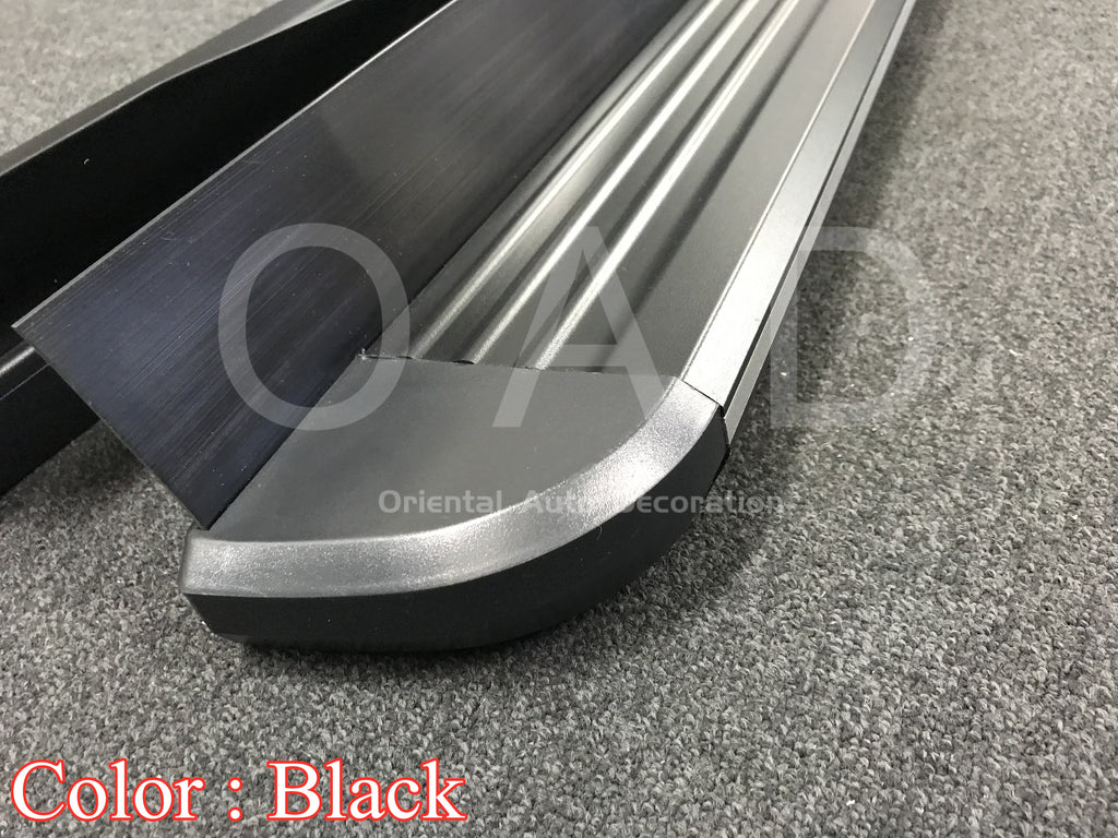 Black Aluminum Side Steps Running Board For KIA Sorento 09-12 model #LP