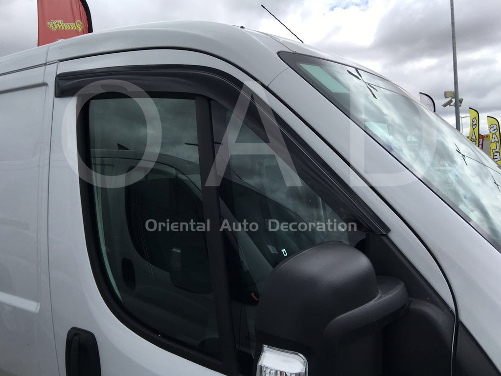 Premium Weather Shields Window Visors Weathershields for Fiat Ducato 07+