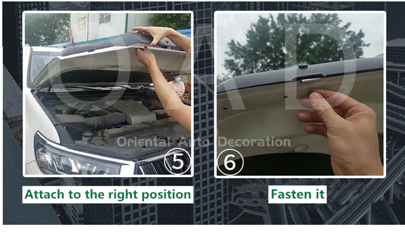 How to install Bonnet Protector / Installation Steps of Bonnet Protectors BP