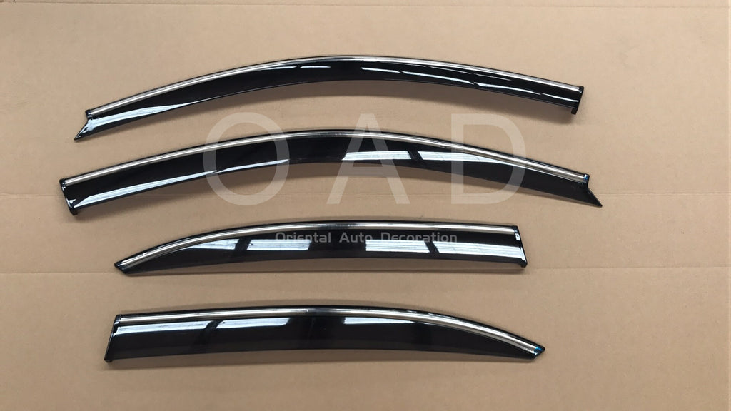 Injection Chrome weathershields weather shields window visor For Holden Malibu EM 13-20 model T